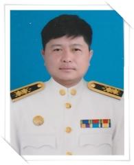 นายเฉลิมพล มูลเพีย เจ้าพนักงานป้องกันและบรรเทาสาธารณภัยปฏิบัติงาน